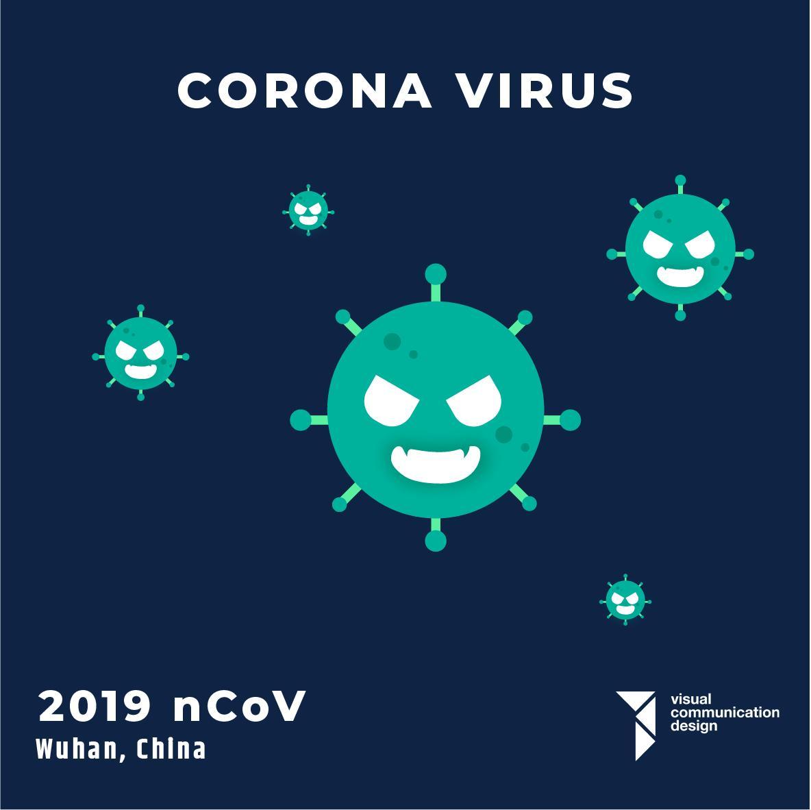 Corona Virus by Angela Ang (VCD 2018)